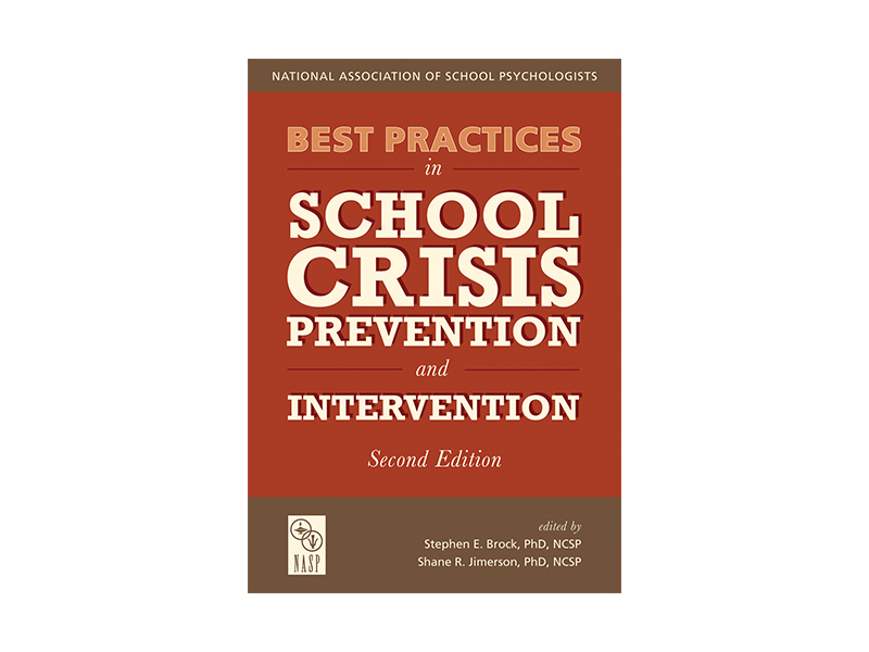 NASP Best Practices in School Crisis Book Cover