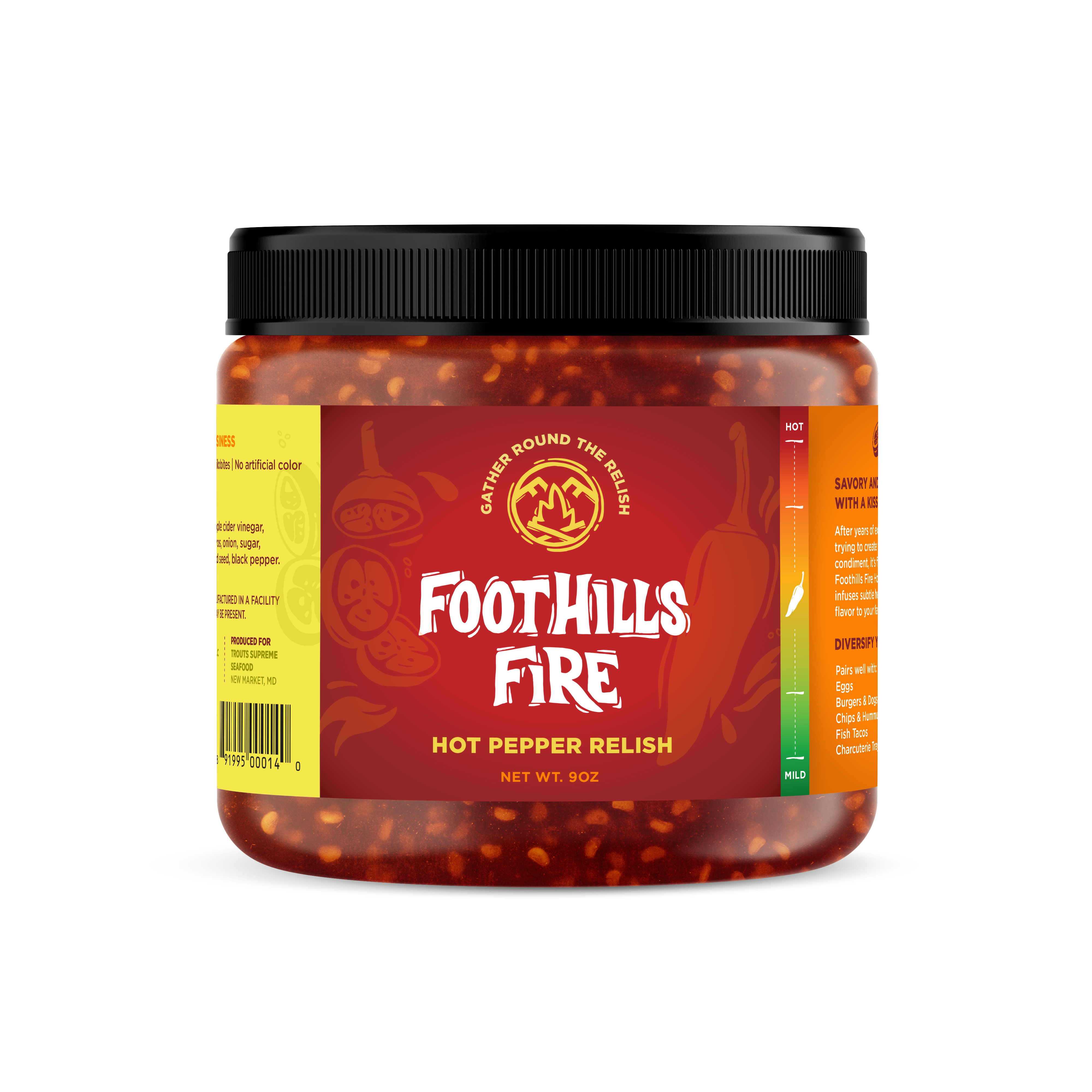 Foothills Fire Packaging