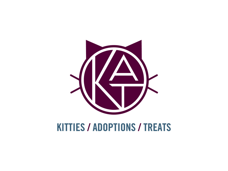 K.A.T. - Kitties/Adoptions/Treats Logo