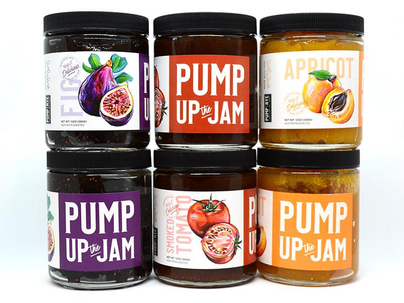 Pump Up the Jam Jars
