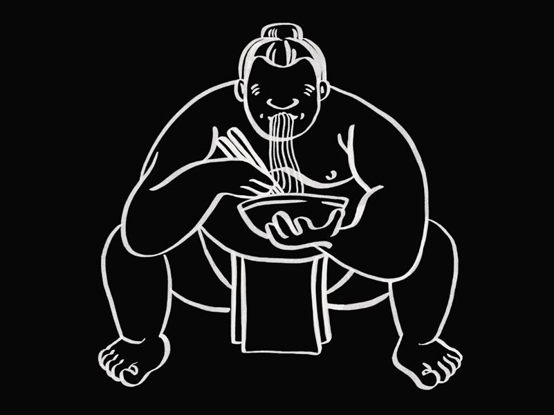 Sumo Illustration