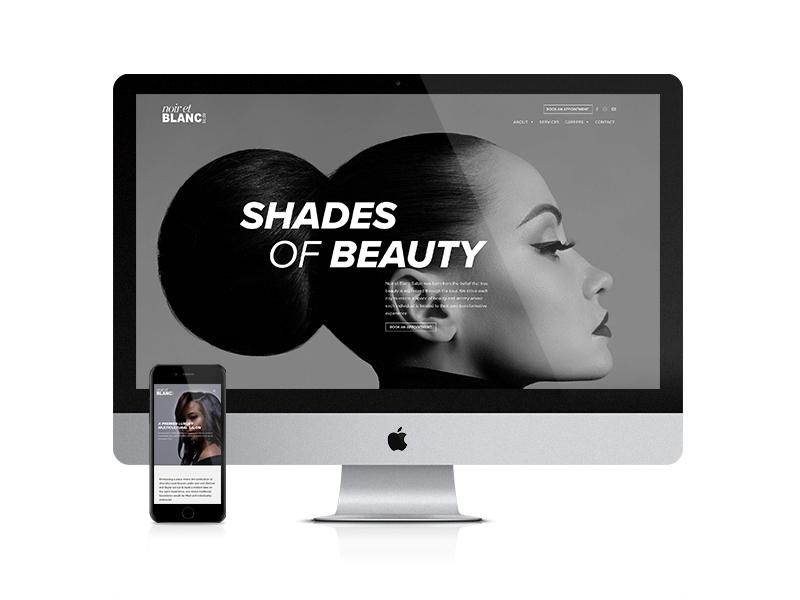 Noir et Blanc Website