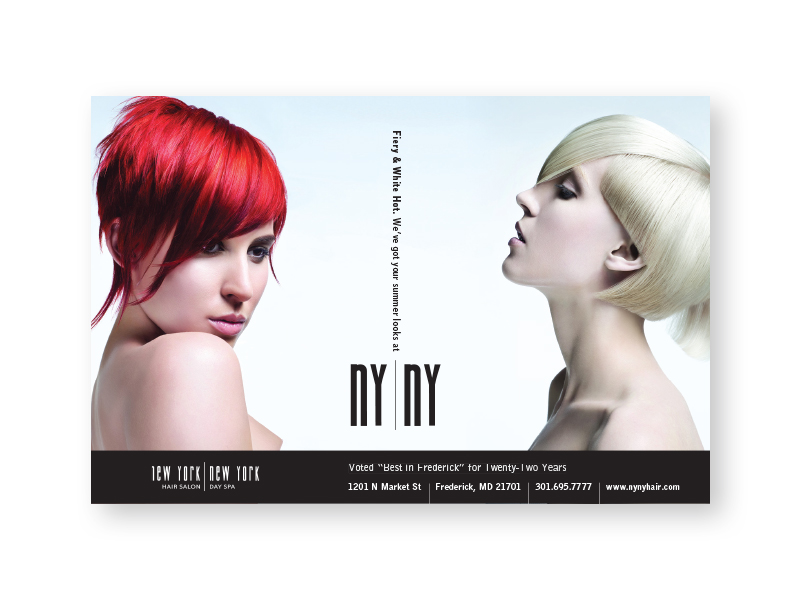 NYNY Hair Salon and Day Spa Magazine Ad