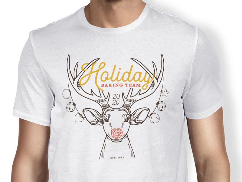 Otterbein's Holiday Baking T-Shirt